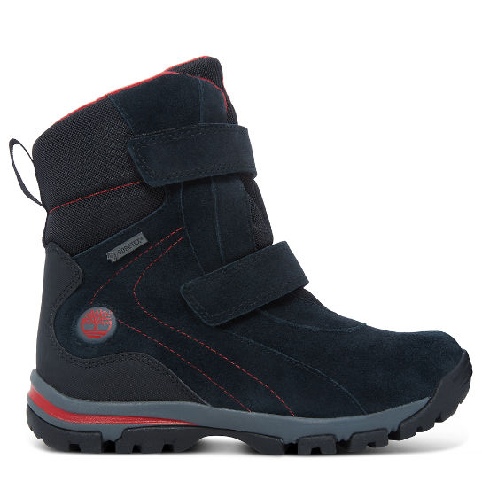 Youth Jiminy Peak Snow Boot Black | Timberland
