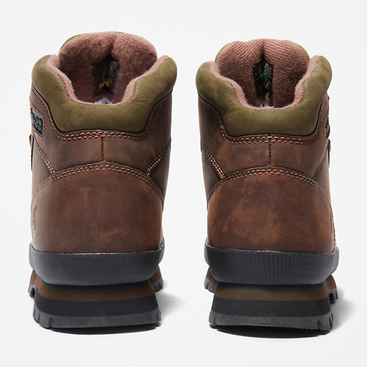 Scarponcino da Trekking da Uomo Euro Hiker Better Leather in marrone-