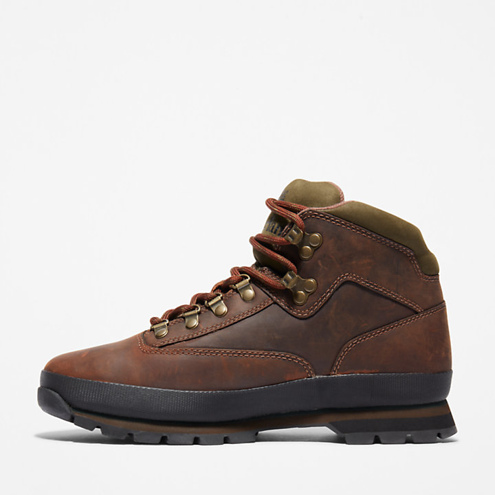 Euro Hiker Wanderstiefel aus Better Leather für Herren in Braun-