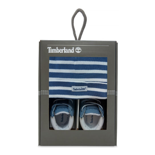 Infant Crib Bootie with Hat | Timberland