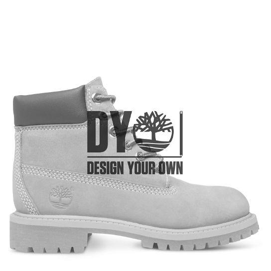 Premium 6 Inch DYO Boot for Junior | Timberland