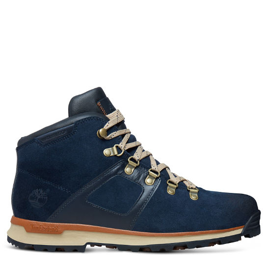 GT Scramble Mid Leather Waterproof hombre Azul marino | Timberland