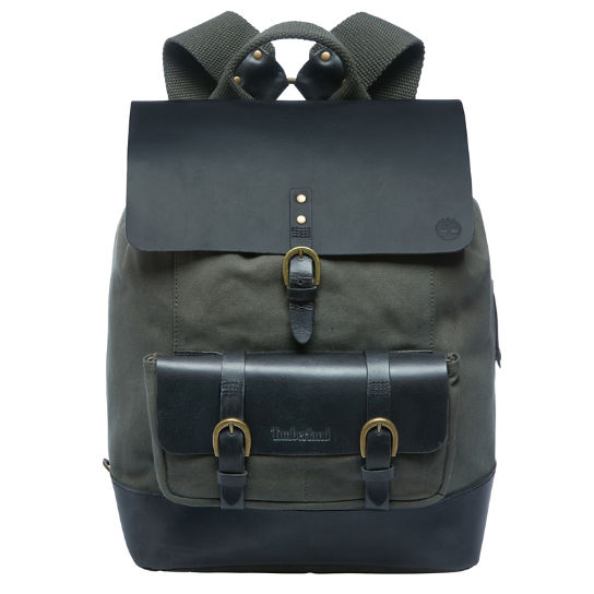 Herren Canvas and Leather Backpack | Timberland
