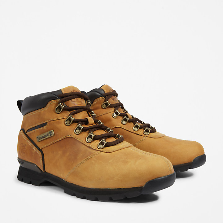 Splitrock Nubuck Mid Hiker for Men in Light Brown-