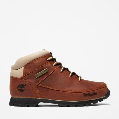 Euro+Sprint+Mid+Hiker+for+Men+in+Brown%2FWhite