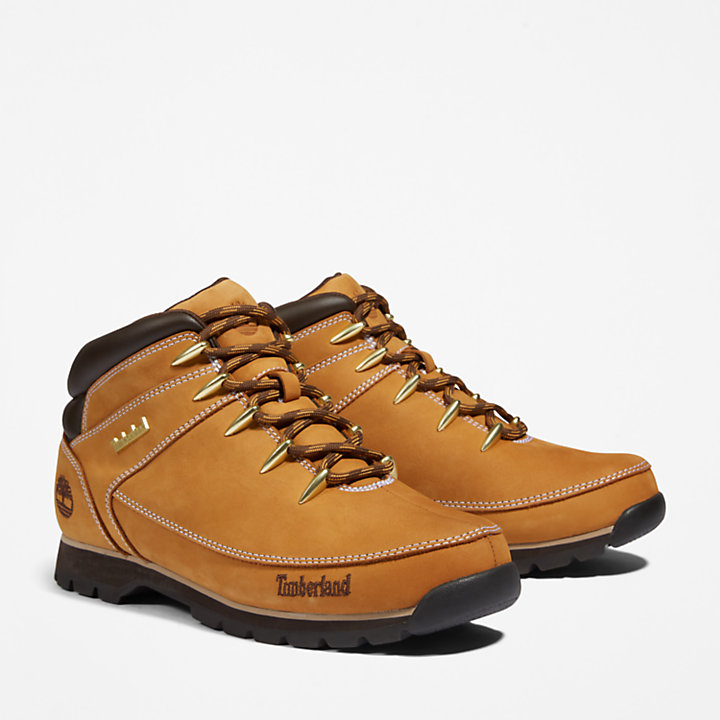 Euro Sprint Mid Hiker for Men in Yellow-
