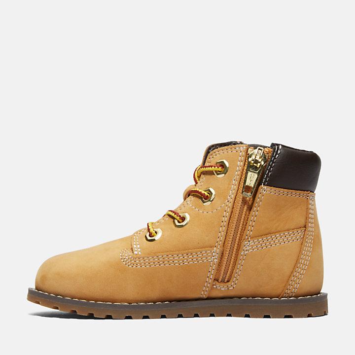 Pokey Pine 6 Inch Boots für Kleinkinder in Gelb-