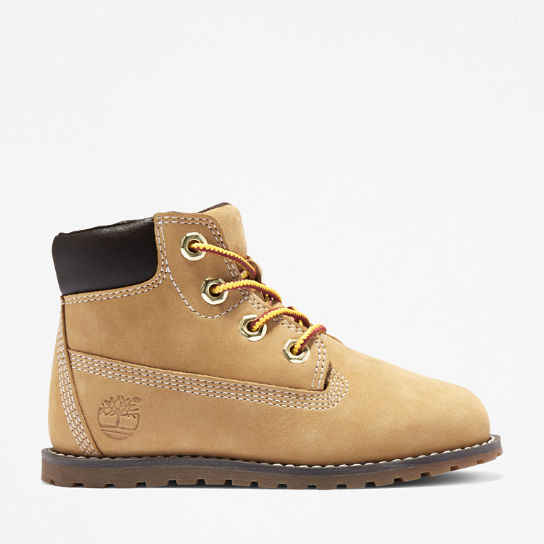 Pokey Pine 6 Inch Boot for Toddler in Yellow | Timberland