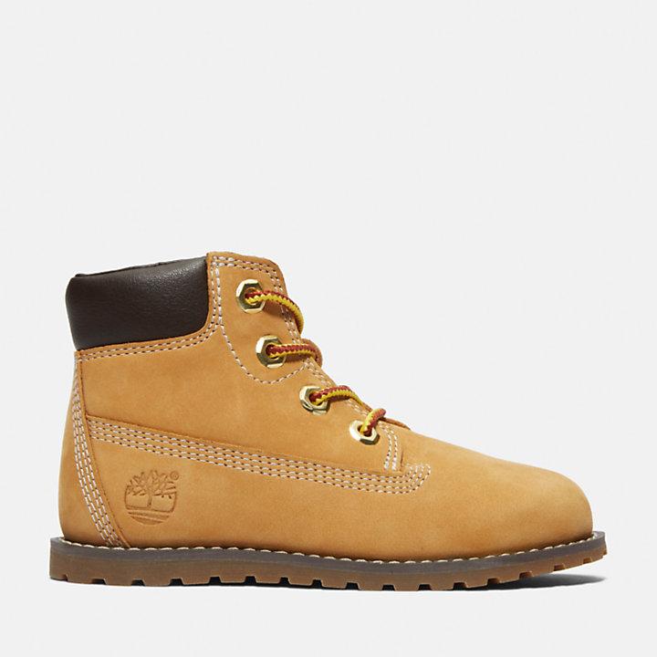 Pokey Pine 6-Inch Boot voor Peuters & Kleuters in geel-