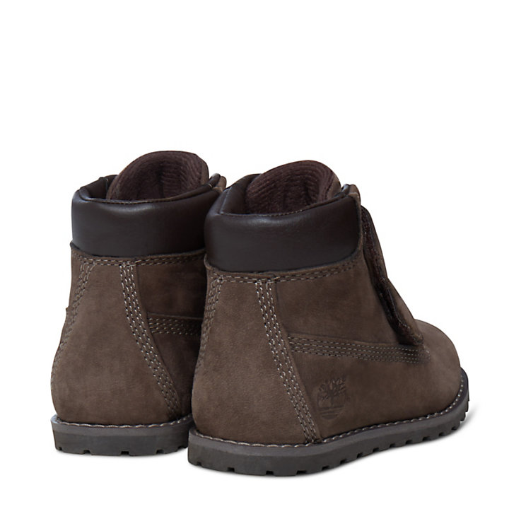 Pokey Pine 6 Inch Boot for Toddler in Brown-