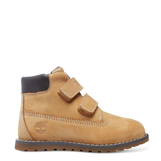 Pokey Pine Hook-and-Loop Prima Infanzia Giallo | Timberland