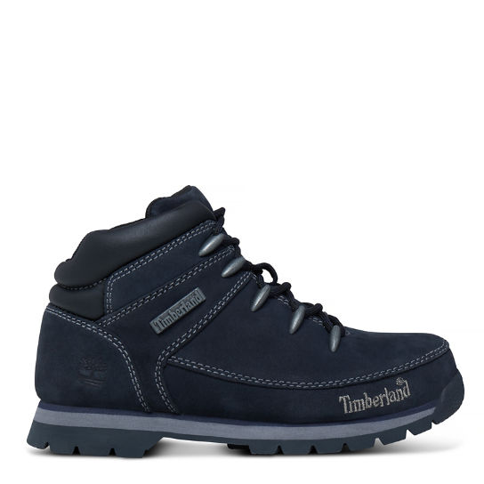 Euro Sprint Hiker Boot for Toddler in Navy | Timberland