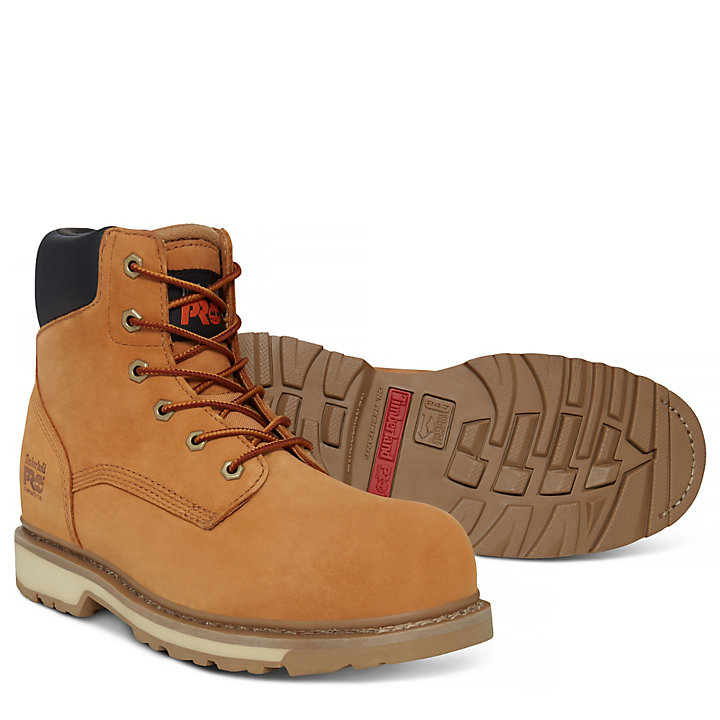 Professional 6-inch Worker Boot Geel Heren-
