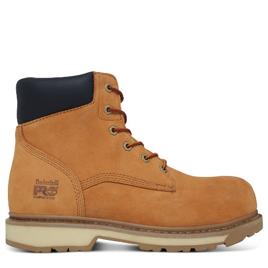 Men's Professional 6-inch Worker Boot Yellow | Timberland