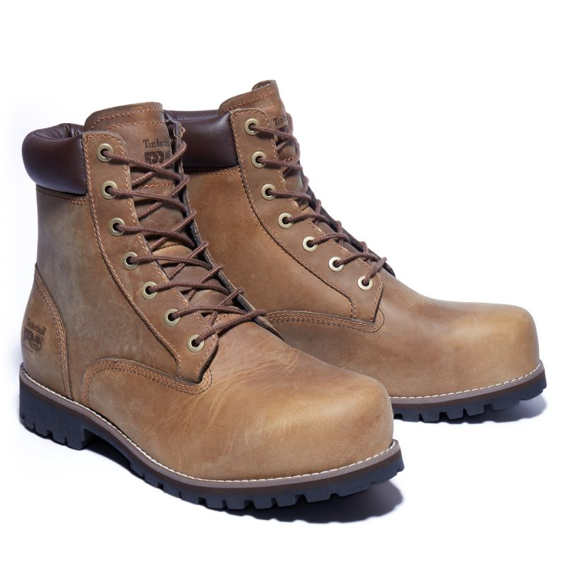 Timberland - pro eagle worker boot gelb - 4