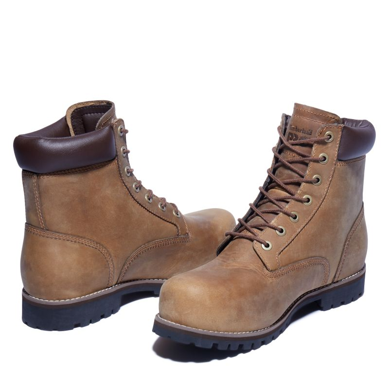 Timberland - pro eagle worker boot gelb - 5