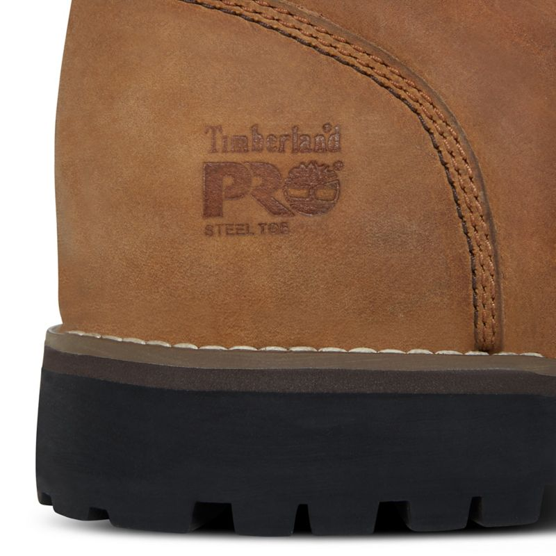 Timberland - pro eagle worker boot gelb - 8