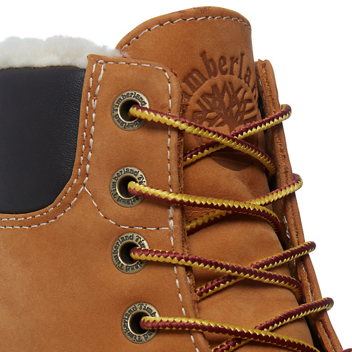 Premium Shearling 6 Inch Boot for Men in Yellow-