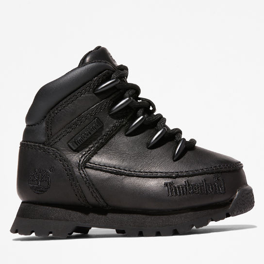 Euro Sprint Hiker for Toddler in Black | Timberland