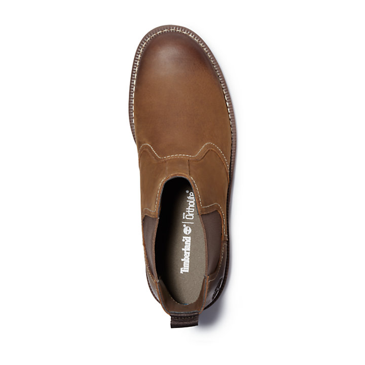 Larchmont Chelsea Boot for Men in Brown-