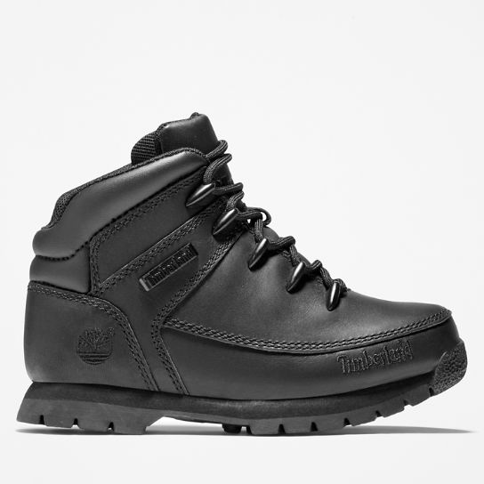 Euro Sprint Hiker for Juniors in Black | Timberland