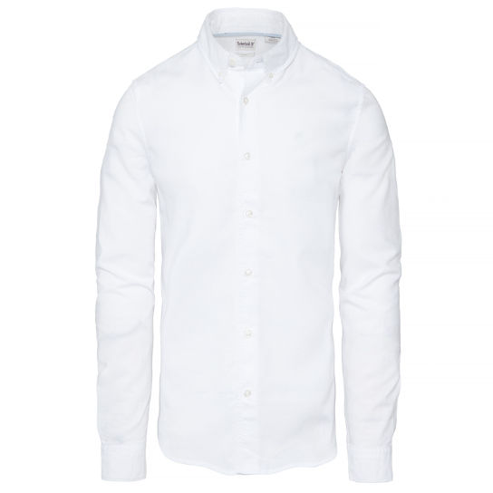 Rattle River Oxford Shirt Heren Wit | Timberland