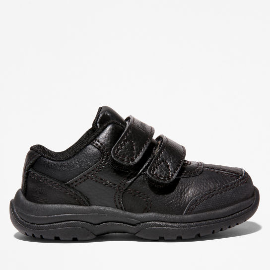 Woodman Park Hook and Loop Oxford Bambino Nero | Timberland