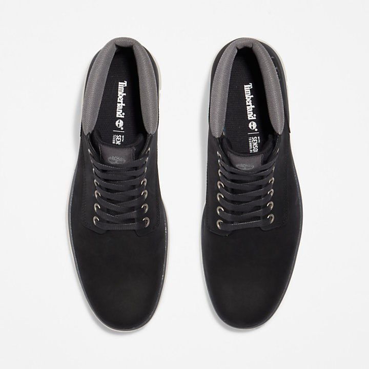 Bradstreet Leather Chukka for Men in Black-