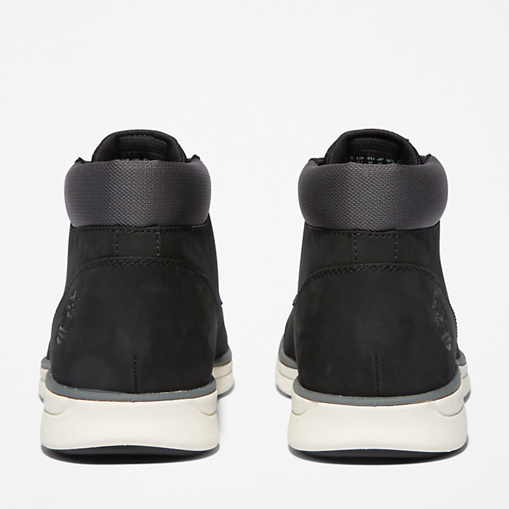 Bradstreet Leather Chukka voor Heren in zwart-