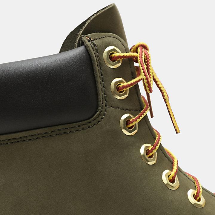 Exclusive 6 Inch Premium Boots für Herren in Grün-