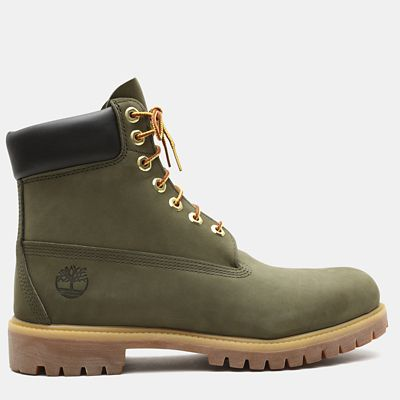 Exclusive+6+Inch+Premium+Boot+for+Men+in+Green