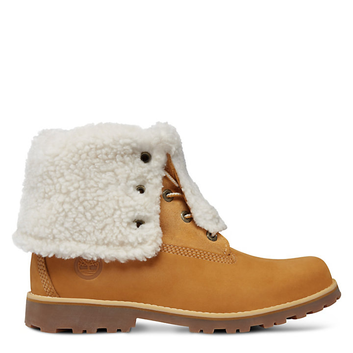 6-Inch Boot Authentics en imitation peau de mouton junior en jaune-