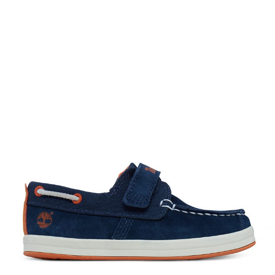 Dover Bay Chaussures bateau Tout-Petit bleues | Timberland