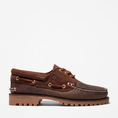Classic+3-Eye+Lug+for+Men+in+Brown