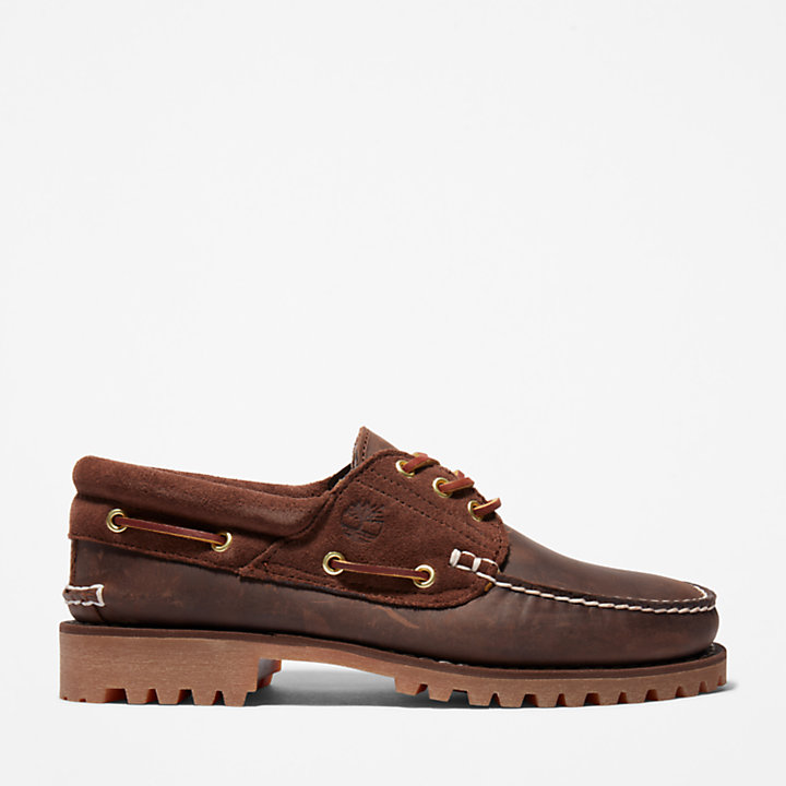 Classic 3-Eye Lug for Men in Brown-