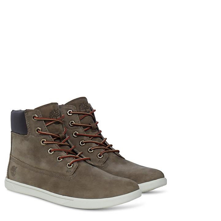 Groveton 6 inch Lace with Side Zip Boot Junior | Timberland