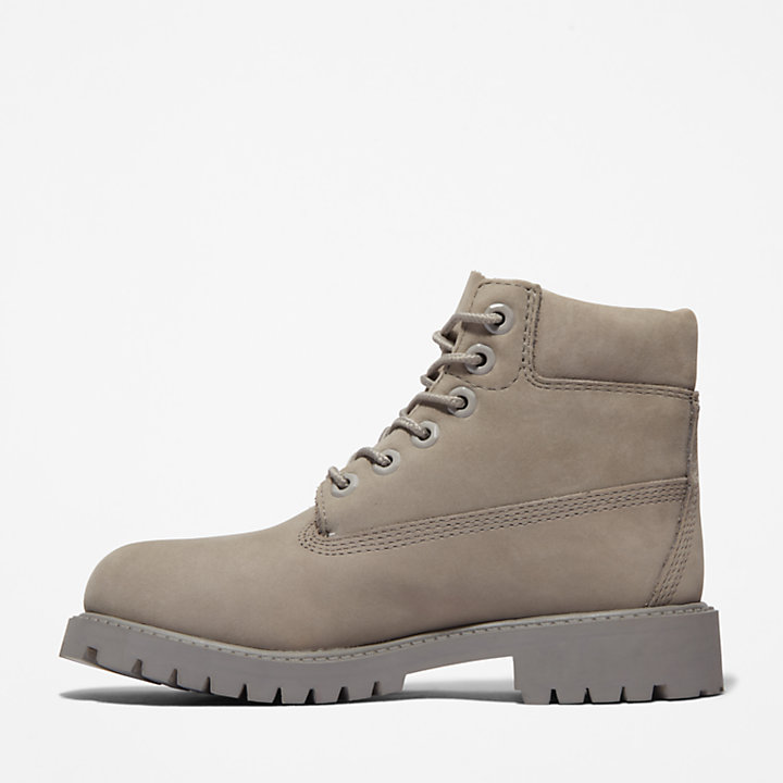 6-Inch Boot Premium junior en gris clair-