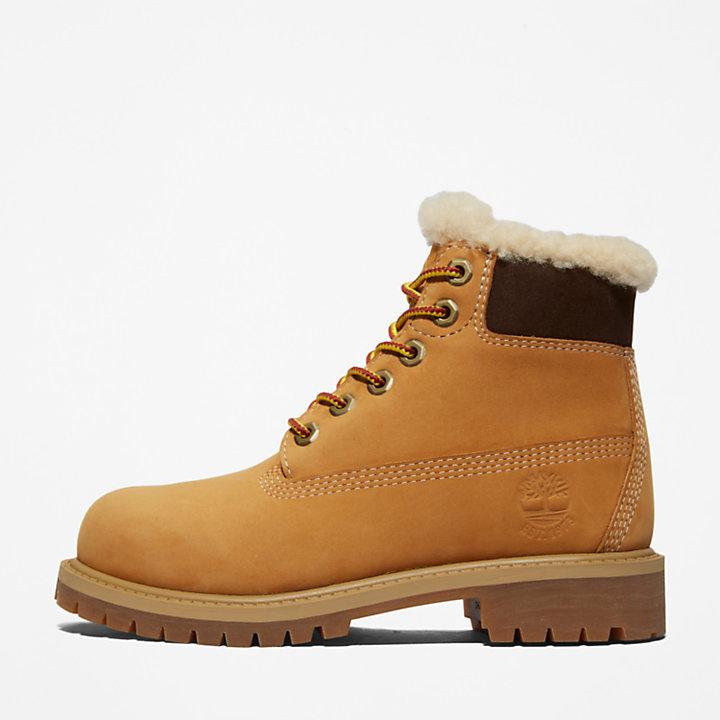 6-inch Boot d'hiver Timberland® Premium pour enfant en jaune-