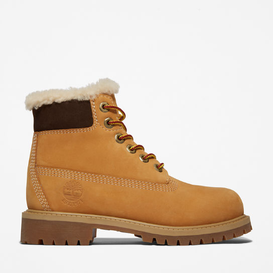 Icon 6-inch Premium Boot for Youth in Yellow | Timberland