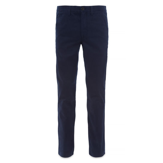 Men's Squam Lake Twill Chino Pant  Night Blue | Timberland