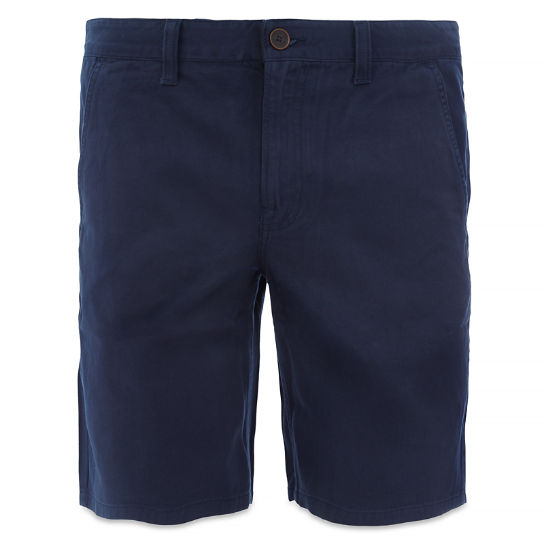 Men's Webster Lake Claic Twill Chino Short  Night Blue | Timberland