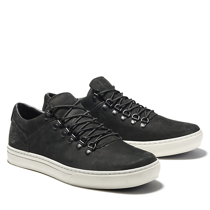 Adventure 2.0 Cupsole Alpine Sneaker for Men in Black-