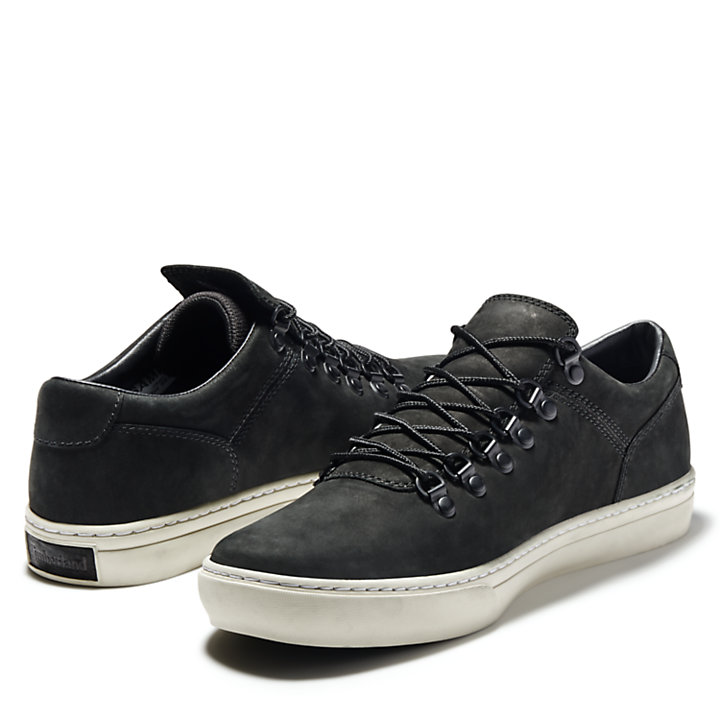 Adventure 2.0 Alpine Oxford for Men in Black Nubuck-