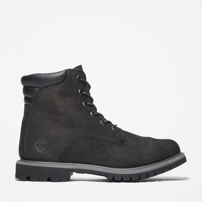 Waterville+6+Inch+Boot+for+Women+in+Black