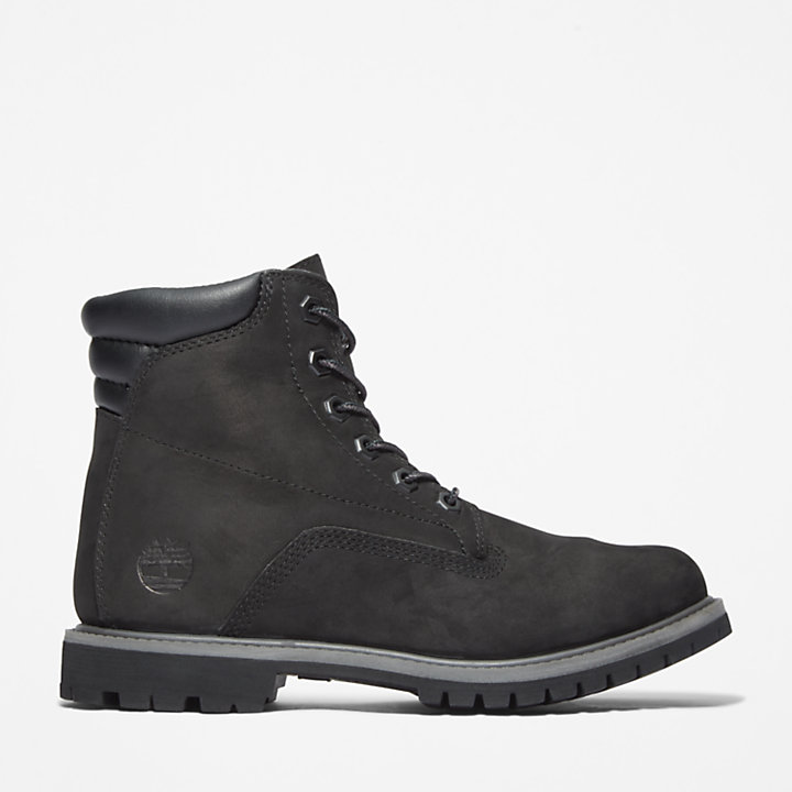 Waterville 6 Inch Boot for Women in Black-