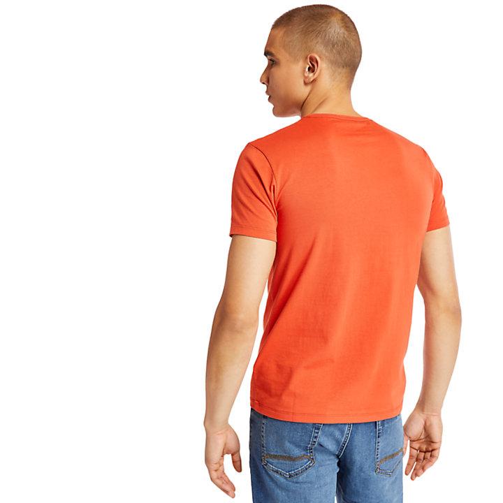 T-shirt Logo à manches courtes pour homme en pêche-