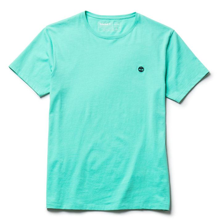 T-shirt Logo à manches courtes pour homme en vert-
