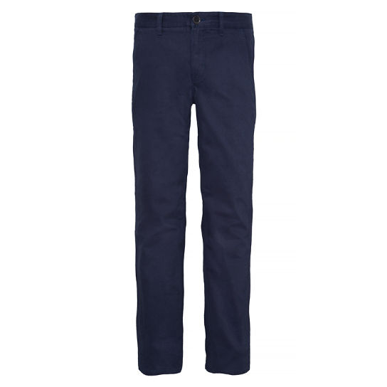 Webster Lake Claic Twill Chino Homme Bleu nuit | Timberland