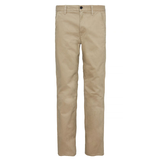 Webster Lake Claic Twill Chino Homme Kaki | Timberland