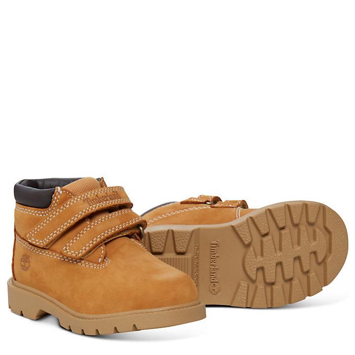 Double Strap Chukka Boot voor Peuters in geel-